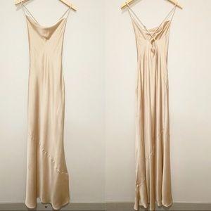 Show Me Your Mumu Champagne Tuscany Slip Dress